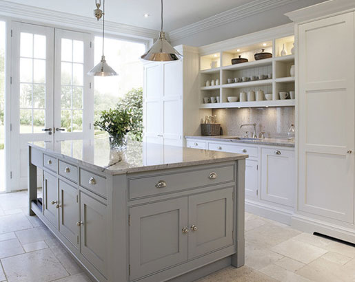 The Psychology Of Why Gray Kitchen Cabinets Are So Popular Home - Light grey shaker cabinets