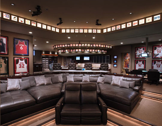 ideas to make a garage a family room - 29 Incredible Man Cave Ideas That Will Make You Jealous