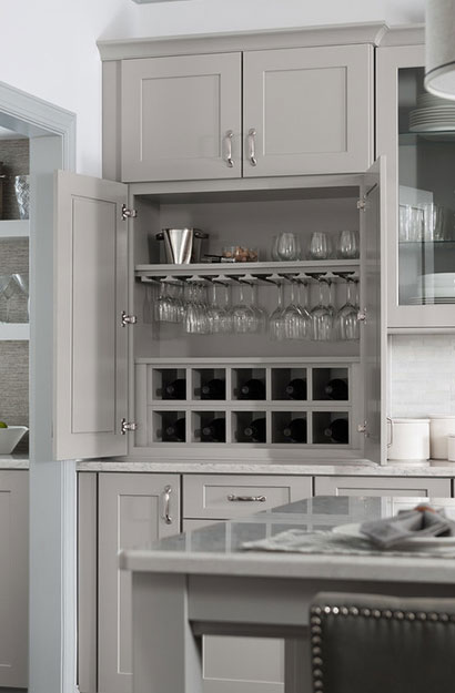 Genial The Psychology Of Why Grey Kitchen Cabinets Are So Popular   Sebring  Services