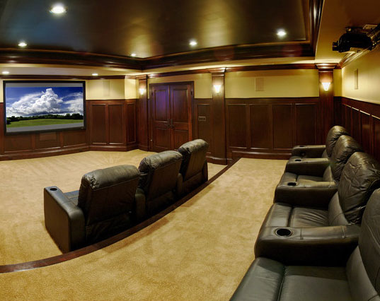 Basement Finishing Ideas - Sebring Services & 45 Amazing Luxury Finished Basement Ideas | Home Remodeling ...