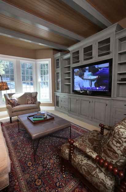 Kitchen Cabinets Entertainment Center the psychology of why gray kitchen cabinets are so popular | home