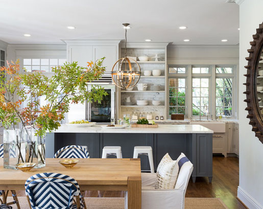 BEACH STYLE. The Psychology Of Why Grey Kitchen Cabinets Are So Popular    Sebring Services