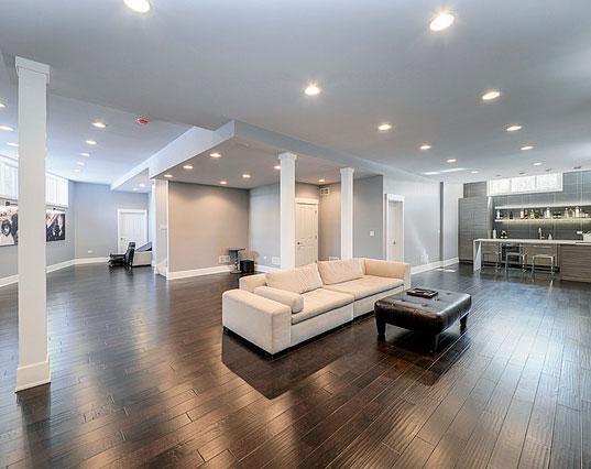 Amazing Luxury Finished Basement Ideas Home Remodeling - Basement finishes