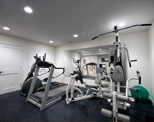 Home Gym Design: 45 Amazing Luxury Finished Basement Ideas