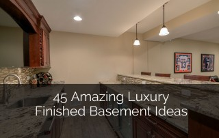 45 Amazing Luxury Finished Basement Ideas - Sebring Services