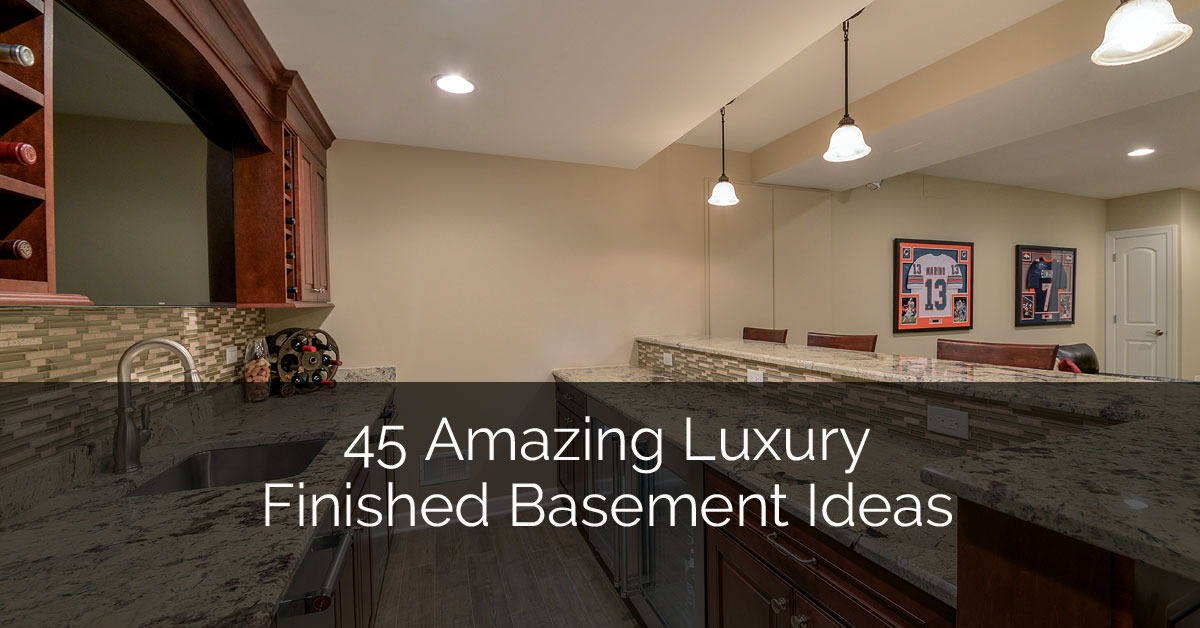 45 amazing luxury finished basement ideas home remodeling