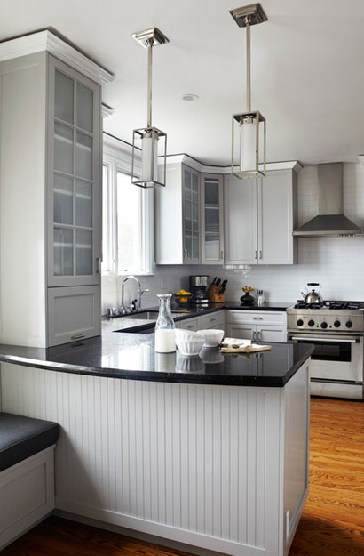 The psychology of why gray kitchen cabinets are so popular for Area above kitchen cabinets called