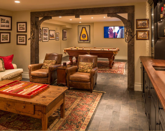 45 amazing luxury finished basement ideas home Basement room decorating ideas