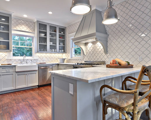 Gray Kitchen Cabinets With Granite Countertops the psychology of why gray kitchen cabinets are so popular | home