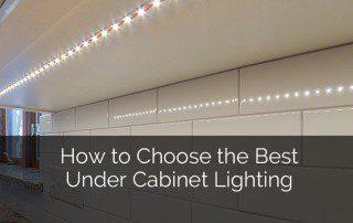 How to Choose The Best Under Cabinet Lighting - Sebring Design Build