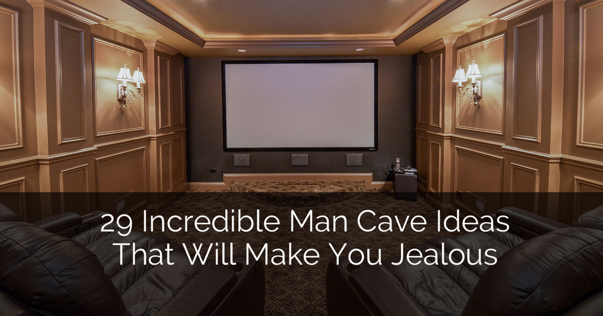 29 Incredible Man Cave Ideas That Will Make You Jealous - Sebring Services
