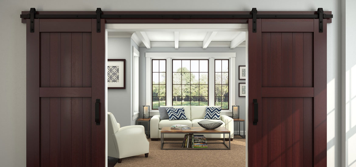 Interior Design How Far From Doorway To Put Furniture ~ Awesome sliding barn door ideas home remodeling