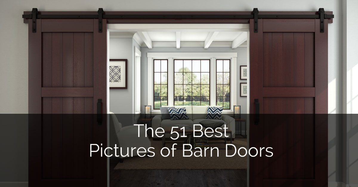 51 Awesome Sliding Barn Door Ideas | Home Remodeling