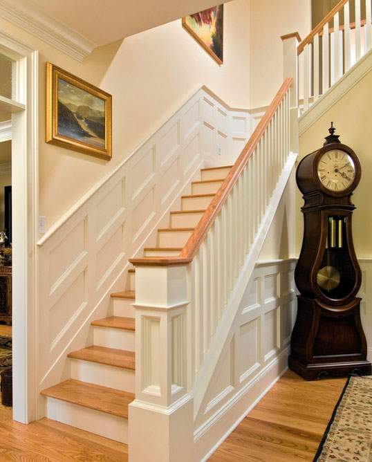 SPECTACULAR STAIRS. The 39 Most Desirable Ideas For Wainscoating   Sebring  Services