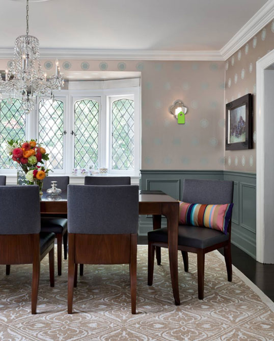 Dining Rooms With Wainscoting