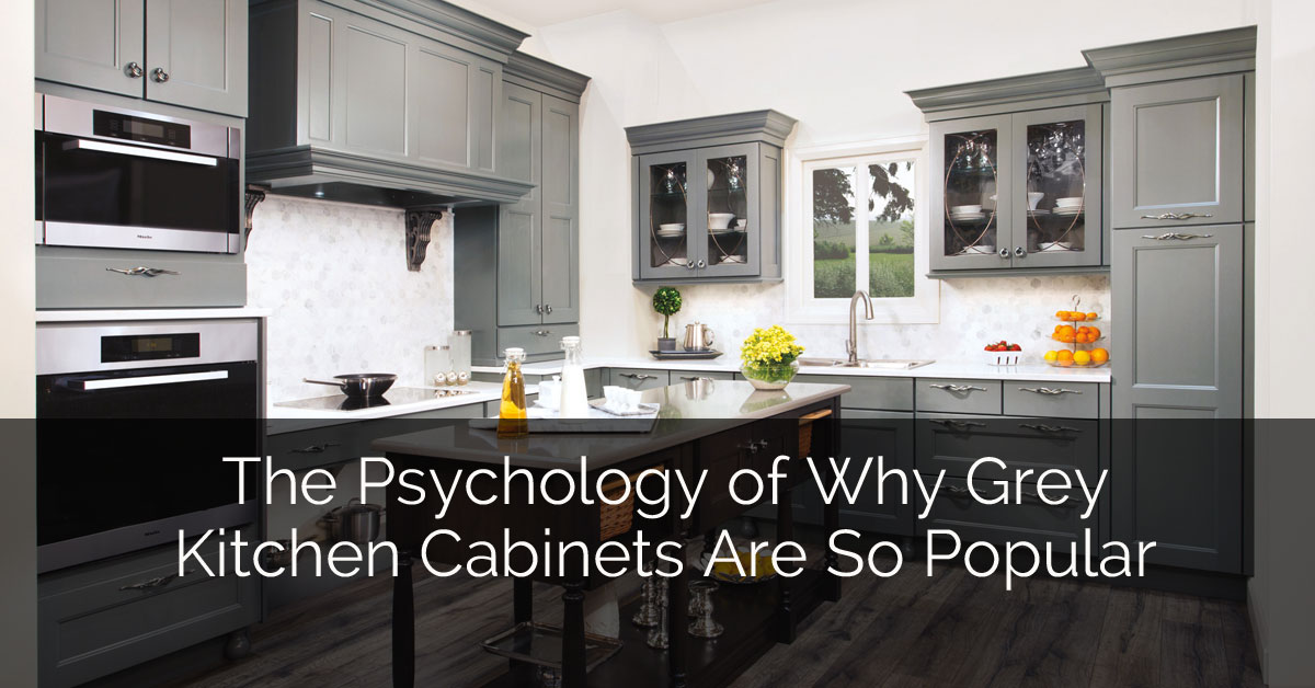 The Psychology Of Why Gray Kitchen Cabinets Are So Popular | Home