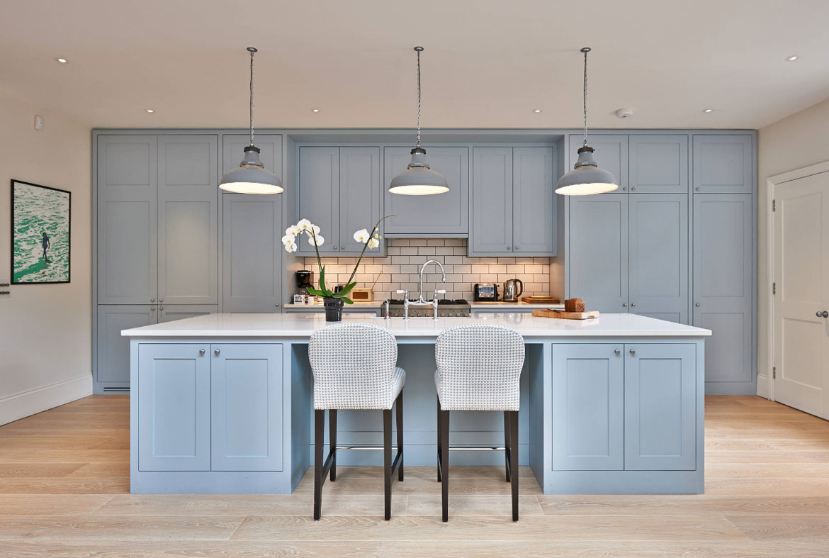 Kitchen Cabinets For Small Kitchens: Design Trend: Blue Kitchen Cabinets & 30 Ideas To Get You
