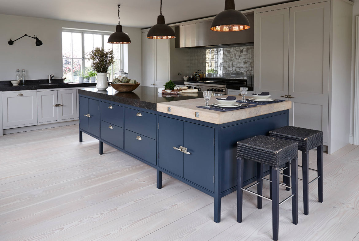 fascinating blue kitchen cabinets | Design Trend: Blue Kitchen Cabinets & 30 Ideas to Get You ...