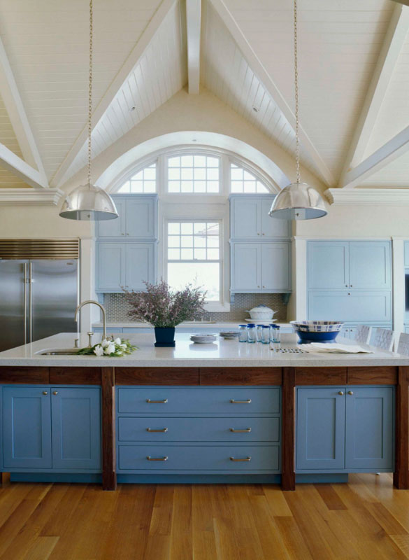 Superieur Blue Kitchen Cabinets   Sebring Services