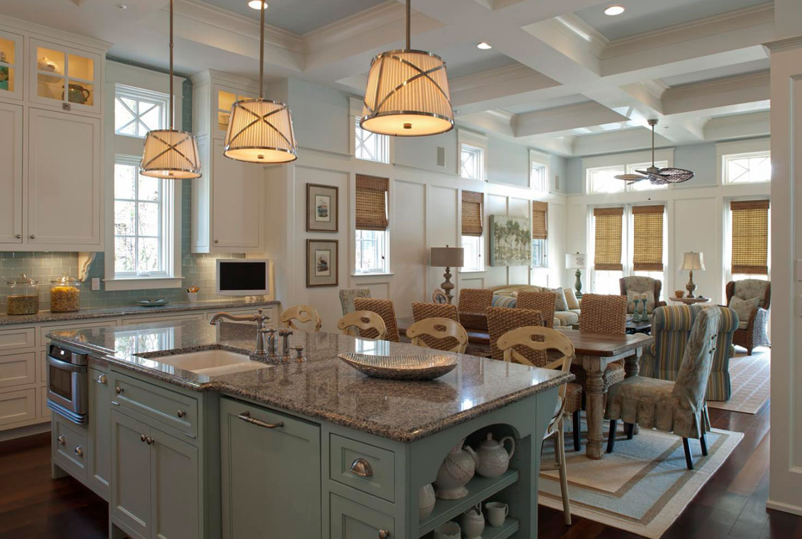 Blue Kitchen Cabinets - Sebring Services & Design Trend: Blue Kitchen Cabinets u0026 30 Ideas to Get You Started ... azcodes.com