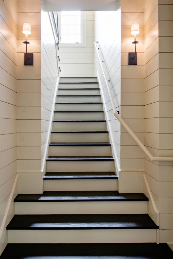 What Is Shiplap Cladding 48 Ideas For Your Home Home Remodeling Amazing Basement Stairs Finishing Ideas Decor