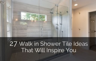 Walk in Shower Tile Ideas that will Inspire You - Sebring Services
