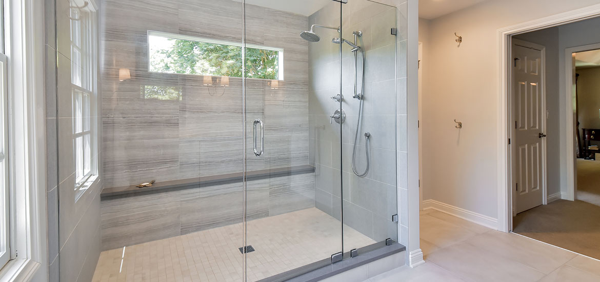 Elegant 27 Walk In Shower Tile Ideas That Will Inspire You Photo Gallery