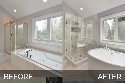 Bobby Lisa 39 S Master Bathroom Before After Home