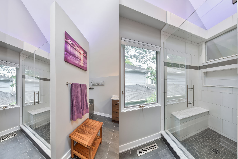 Mike julia 39 s master bathroom remodel pictures home for Remodel design services