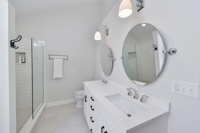 Bathroom Remodeling Tile Quartz Ideas Lisle Warrenville - Sebring Design Build