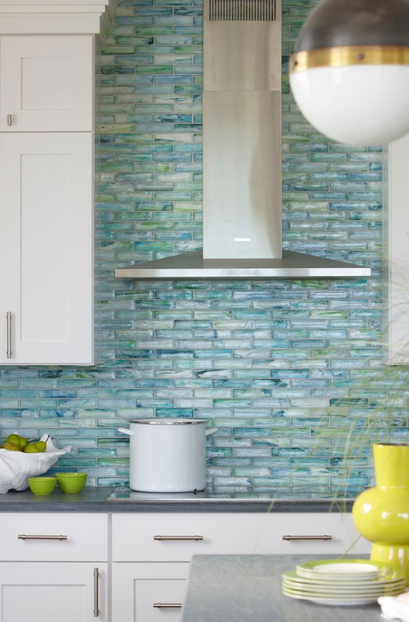 White Kitchen Tile Backsplash Ideas Part - 45: Kitchen Tile Backsplash Design Ideas - Sebring Services