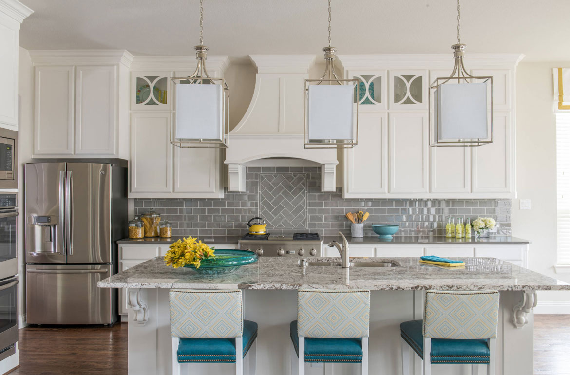 White Kitchen Tile Backsplash Ideas Part - 23: Kitchen Tile Backsplash Design Ideas - Sebring Services