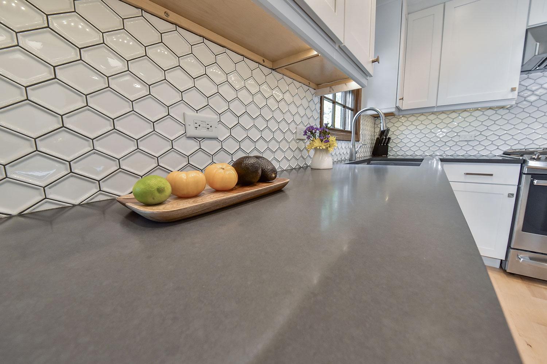 Kitchen Remodeling Ideas wood Cabinetry light Quartz Aurora Naperville Illinois-