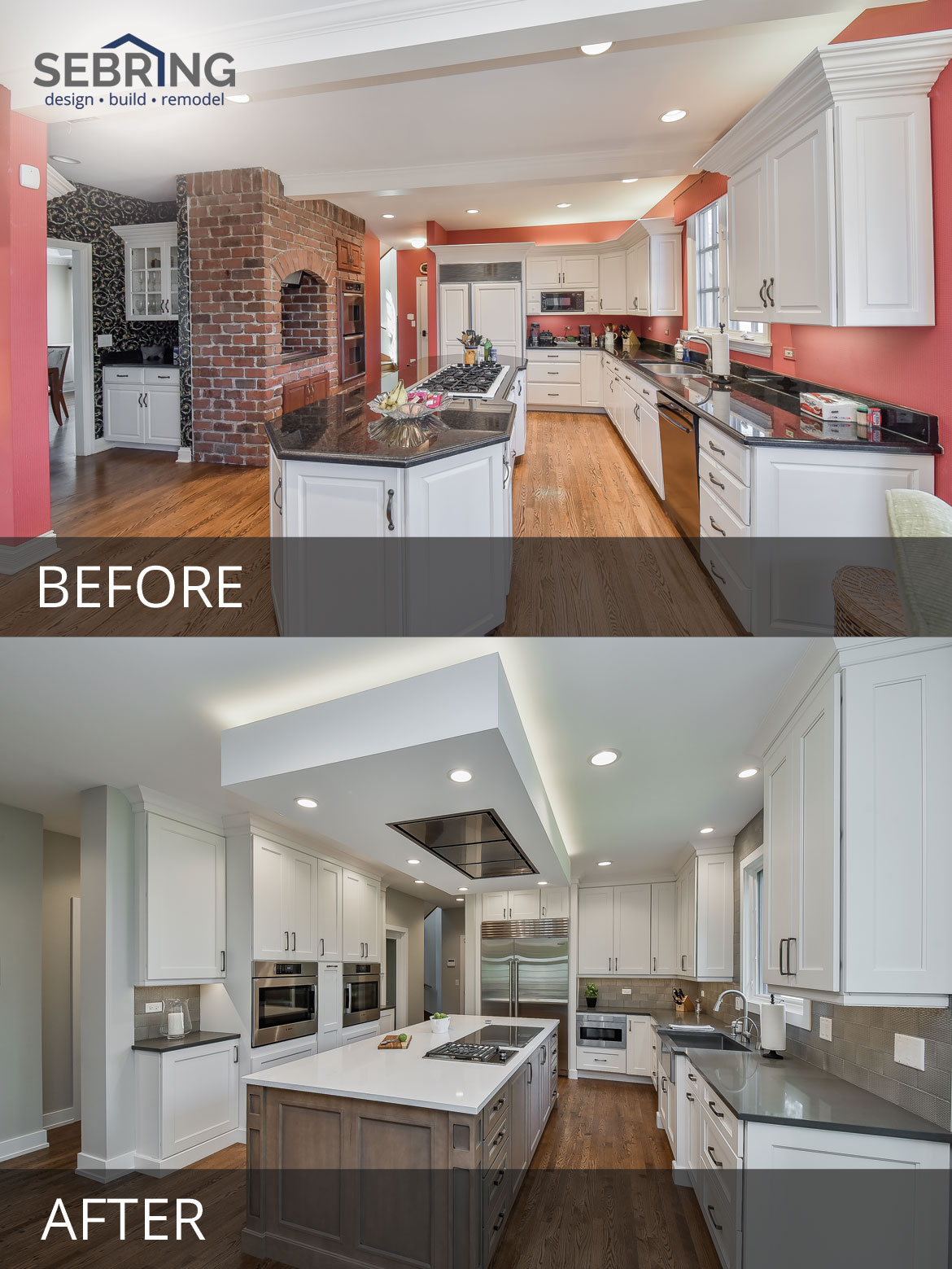Wheaton Kitchen Remodeling Project With High-End Details