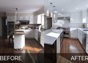 Before After Kitchen Remodeling - Sebring Design Build