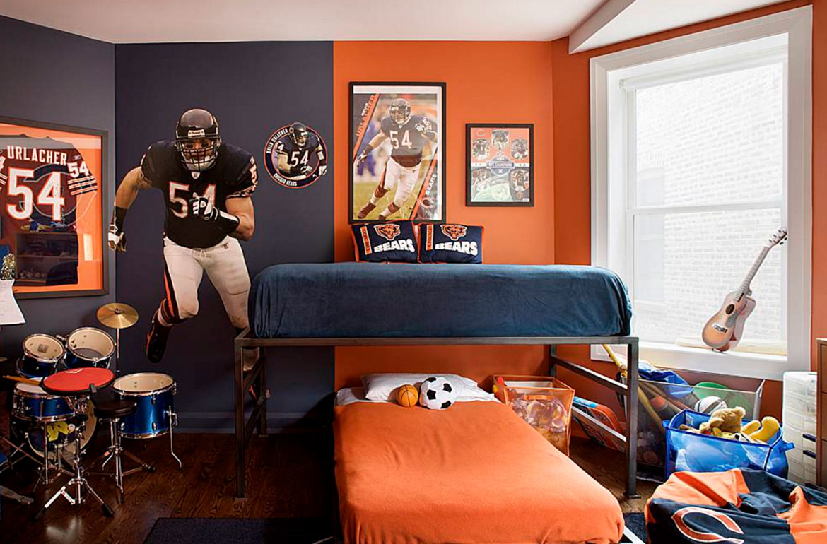 Attrayant Really Fun Sports Themed Bedroom Ideas   Sebring Services