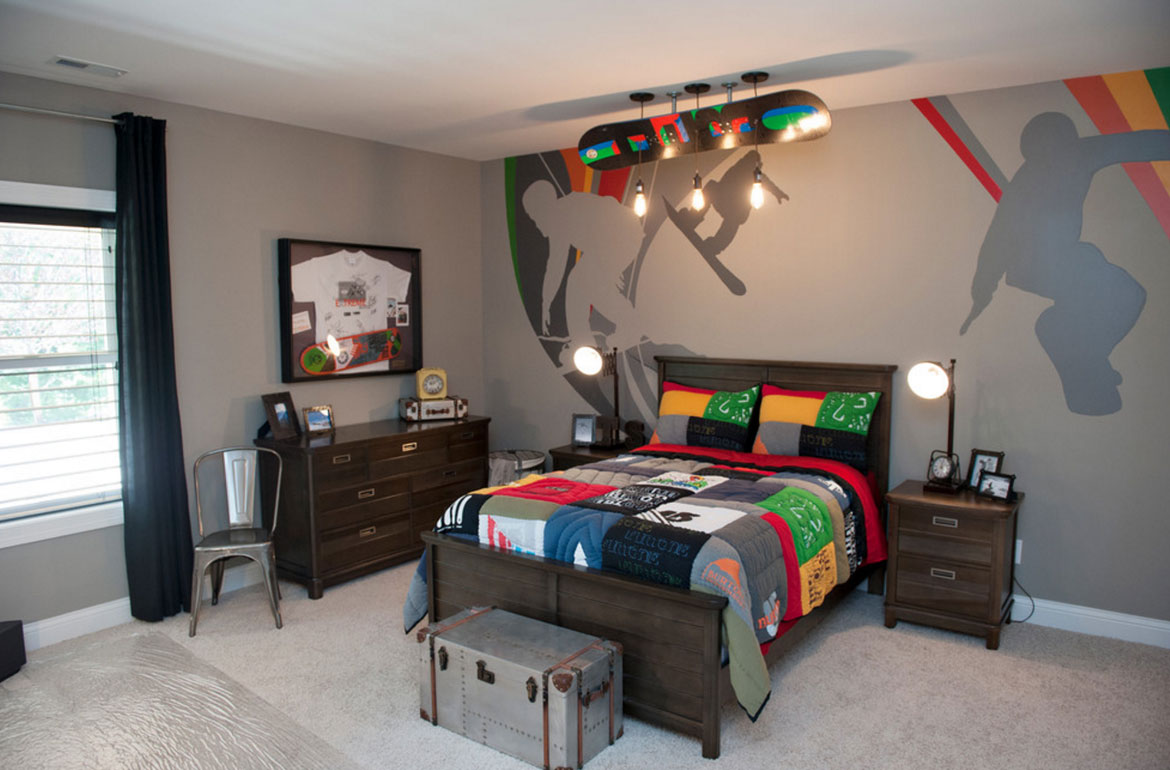 really fun sports themed bedroom ideas sebring services - Bedroom Fun Ideas