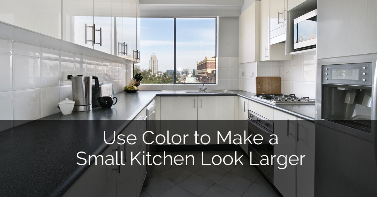Use Color To Make A Small Kitchen Look Larger Home Remodeling Contractors Sebring Design Build