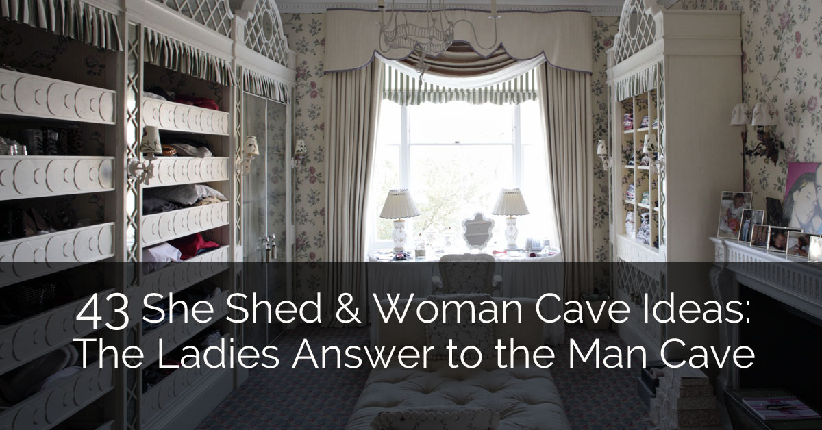 Classic Man Cave Zen : 43 she shed & woman cave ideas: the ladies answer to man