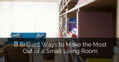 8 Brilliant Ways to Make the Most Out of a Small Living Room - Sebring Services