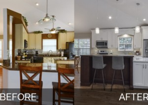 Naperville Kitchen Before and After Remodeling - Sebring Design Build