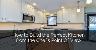 How to Build the Perfect Kitchen for a Chef - Sebring Services