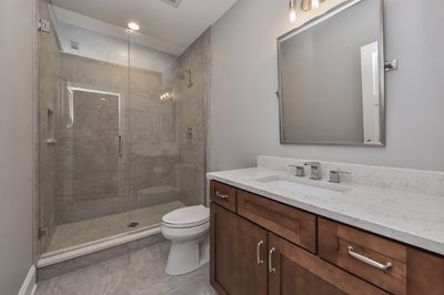 Naperville Hall Bathroom Remodeling Project - Sebring Services