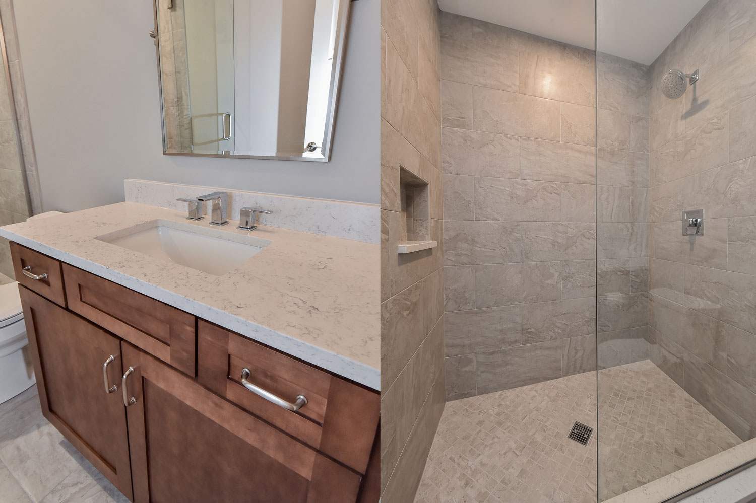 Naperville Hall Bathroom Remodel Pictures Home