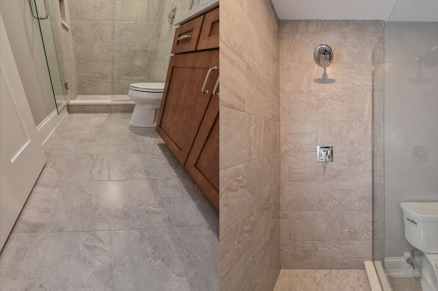 Naperville Hall Bathroom Remodel Pictures Home Remodeling Contractors Sebring Services
