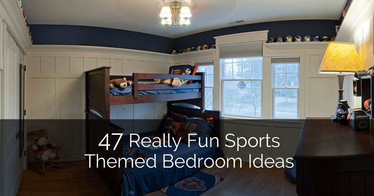 47 Really Fun Sports Themed Bedroom Ideas | Home Remodeling Contractors |  Sebring Design Build