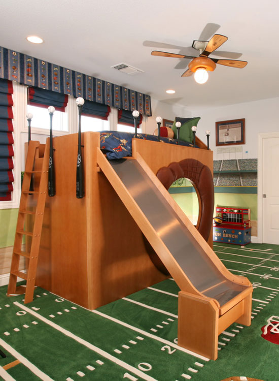 47 Really Fun Sports Themed Bedroom Ideas | Home ...