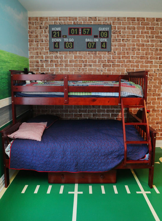 47 really fun sports themed bedroom ideas home remodeling