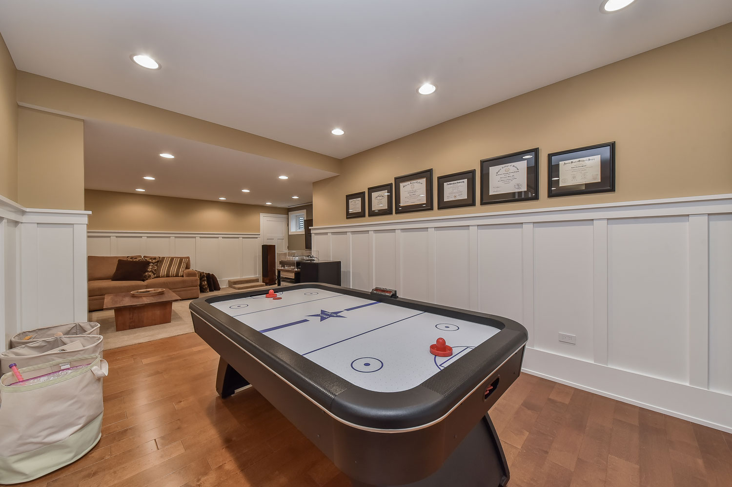 A naperville illinois basement remodel pictures home remodeling contractors sebring design build - Basement design services ...