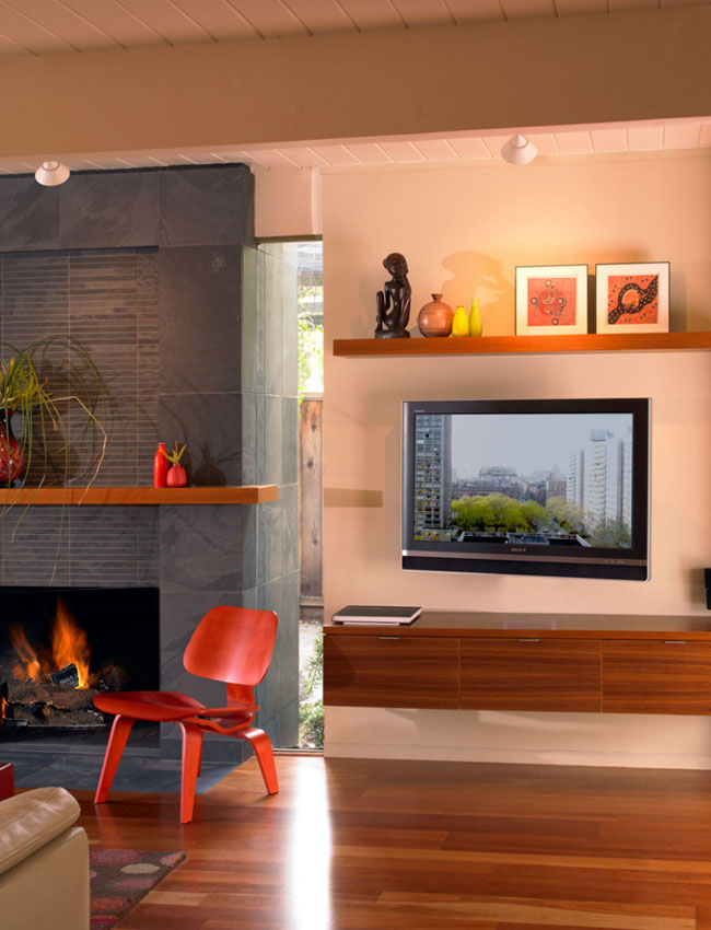 Wall Mounted Tv Ideas - Sebring Services